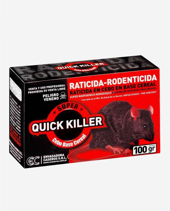 Super Quick Killer C - Raticida Base Cereal